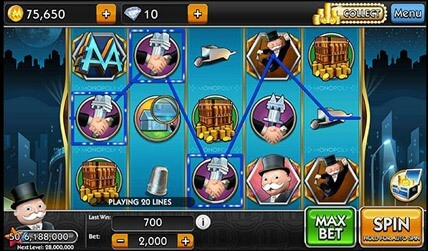Monopoly Slots Review screenshot 1